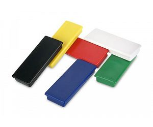 Round and Block Plastic Magnets